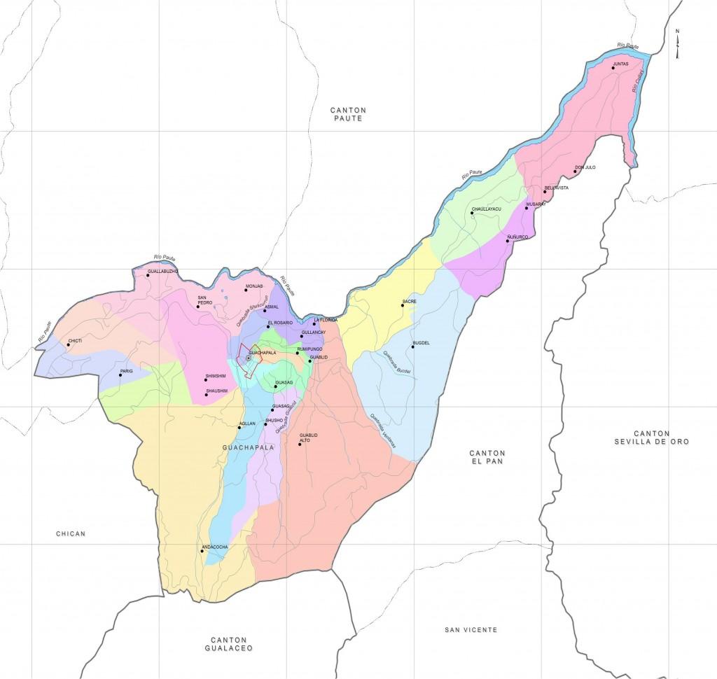division politica guachapala