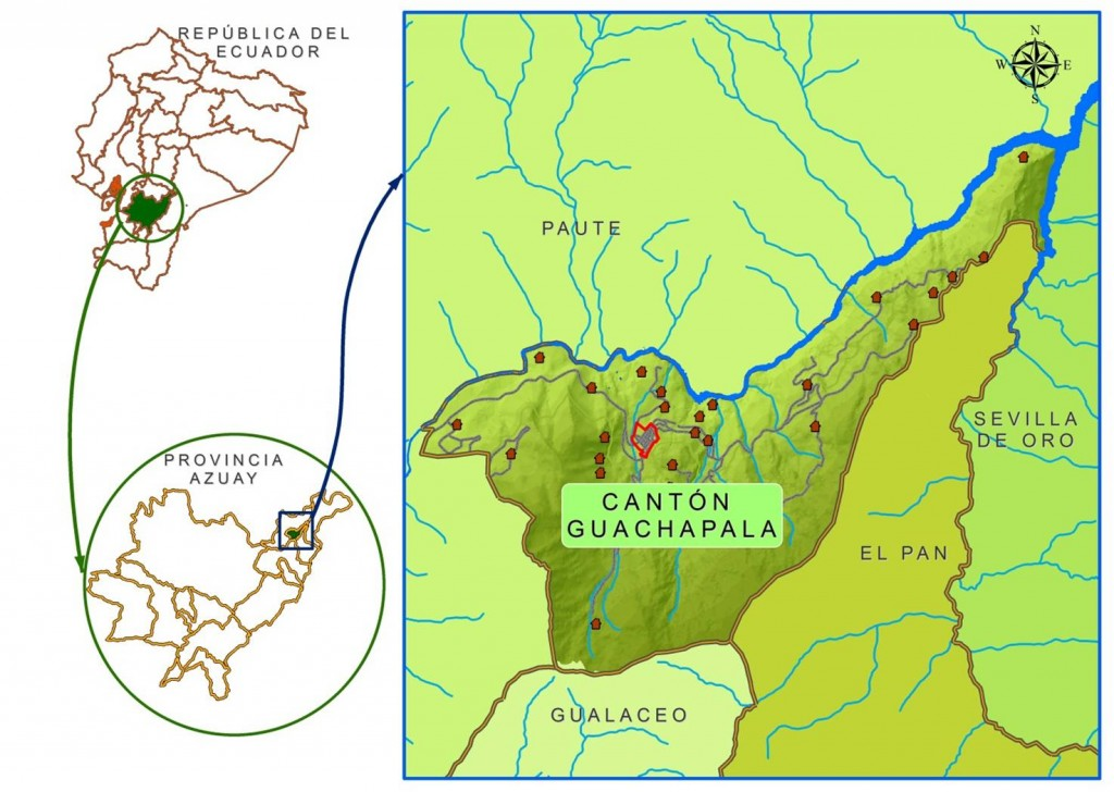 guachapala ubicacion