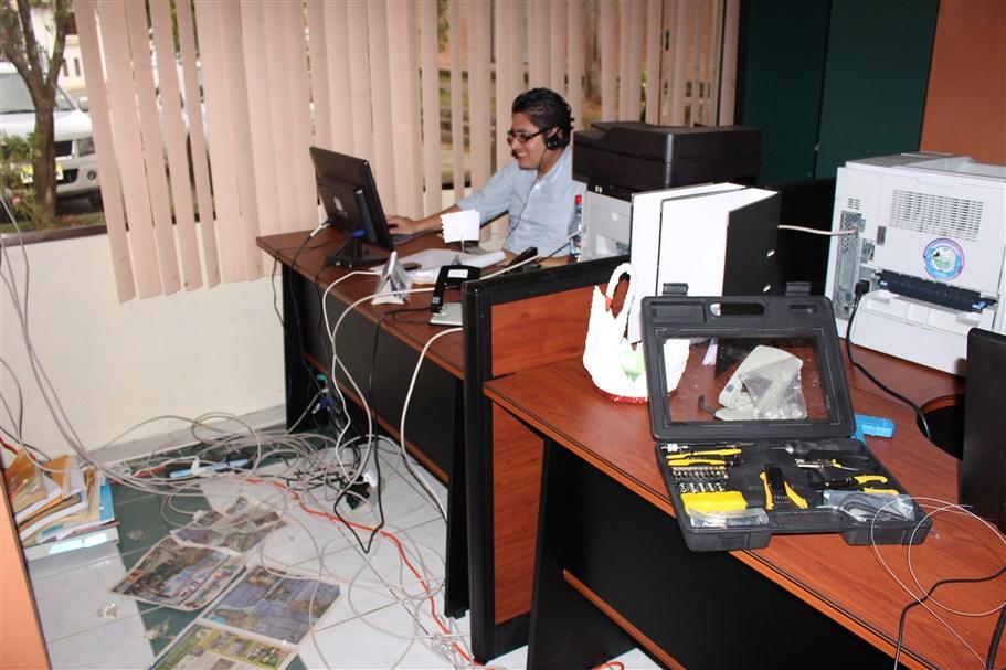 Municipio de guachapala renueva sus instalaciones gad for Bolsa de trabajo oficinas de gobierno