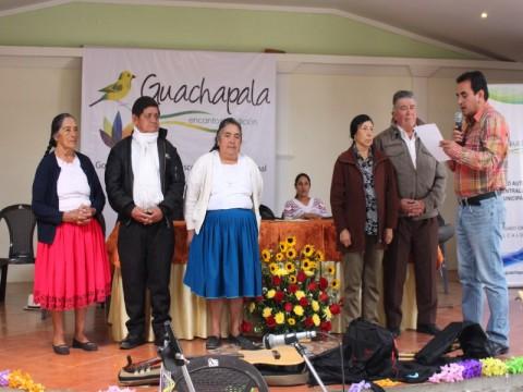 Paulo Cantos, Alcalde (e), Toma el juramento durante la posesión de los Miembros del Concejo Consultivo