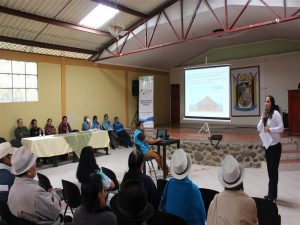 La Concejal Marina Lopez lidero la socialización de la normativa