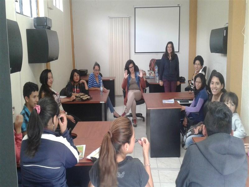 Varios jóvenes se han sumado a los talleres formativos