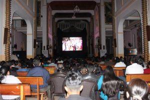 Los reconocimientos a los actores fueron entregados por los miembros del I. Concejo Cantonal.