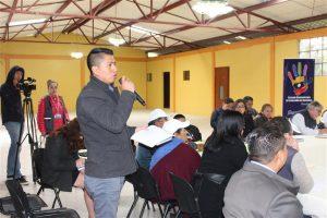 Los representantes de las instituciones expusieron los avances de su gestión.