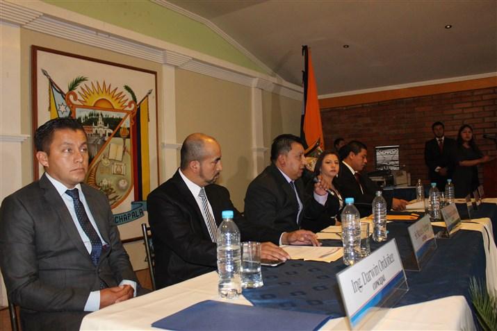 El nuevo concejo cantonal designo al Ing. Darwin Ordoñez como vicealcalde de Guachapala.