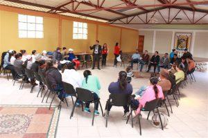 Las Instituciones presentes presentaron sus propuestas de trabajo en el territorio