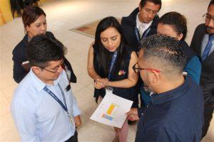 Técnicos de la municipalidad y del MSP revisaron las instalaciones del salón municipal
