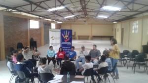 Jóvenes del cantón participan en los talleres formativos